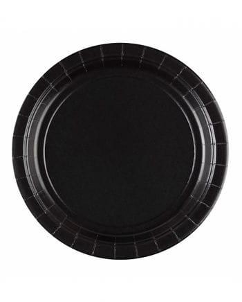 Paper plate black