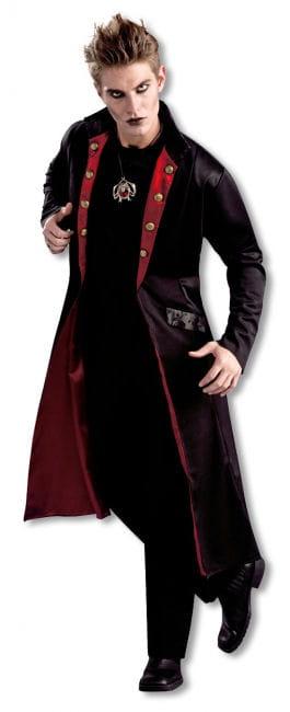 Schwarzer Vampir Mantel