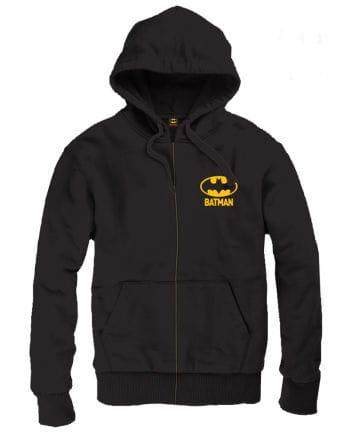 Batman Logo Hoodie schwarz