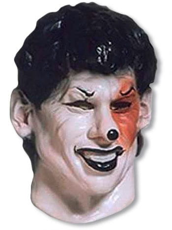 Black Joker mask Foamlatex
