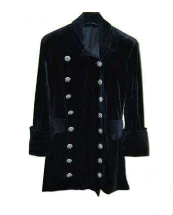 3/4 velvet coat black Size S