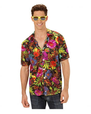 Hawaiian Shirt Black ML