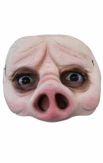 Schweine Halbmaske