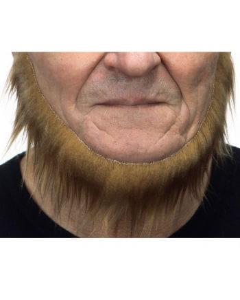 Selbstklebender Seefahrer Bart hellbraun