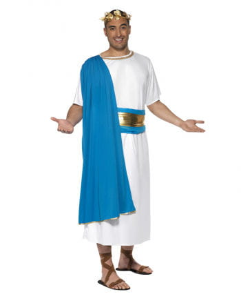 Roman costume blue / white