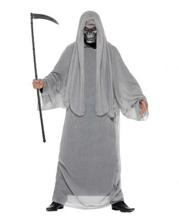 Sensenmann Kostüm mit Halbmaske