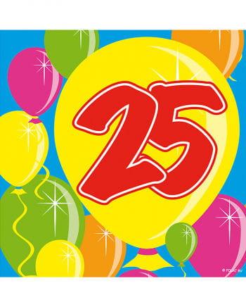 Servietten Ballon 25
