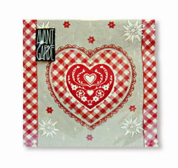 Napkins Alpine Love 20 PCS
