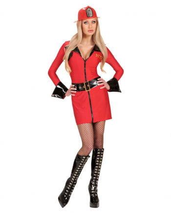 Sexy Firefighter Girl Kostüm 34/36