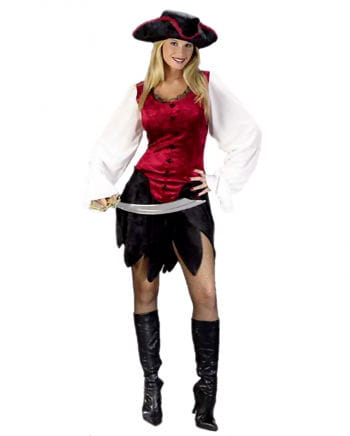 Sexy Adventure Pirate Lady Costume. 36-38 S / M