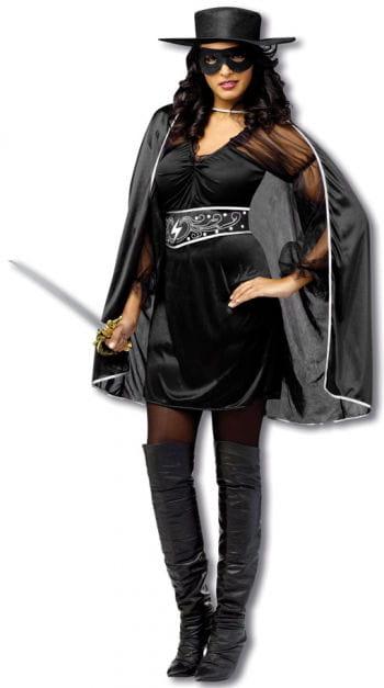 Sexy Banditin Kostüm - S/M S/M 36-38