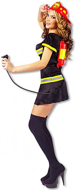 Sexy Feuerwehr Lady Kostüm 40/42 ML M/L