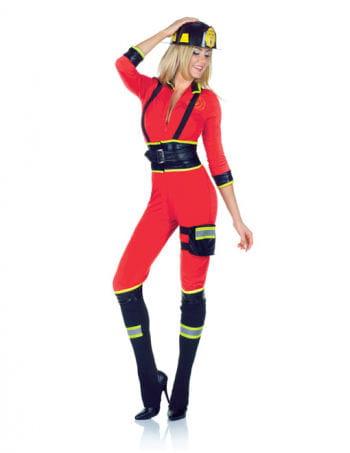 Sexy Feuerwehrfrau Catsuit