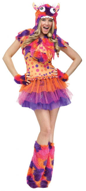 Sexy Fuzzy Fifi Ladies Costume