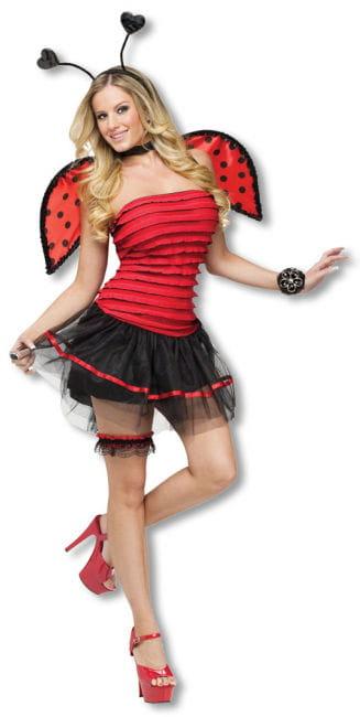 Sexy Marienkäfer Kostüm S/M 36-38 S/M 36-38