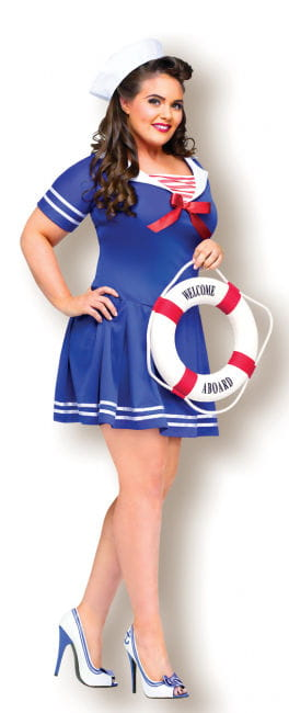 Sexy Sailor Girl Costume XL