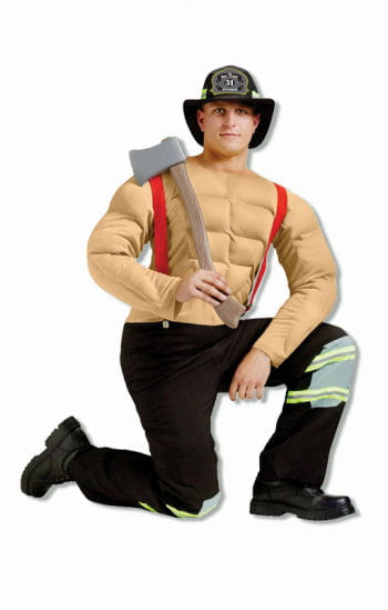 Sexy Pin Up Fireman Costume