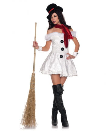 Hot Snow Woman Premium Costume XL
