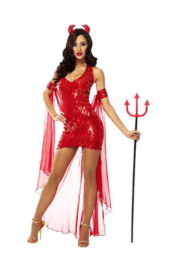 Sexy Devil Queen Costume