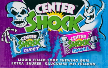 Ghost Skull Shock Chewing Gum