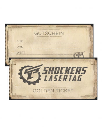 Shockers Lasertag Gift Certificate