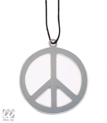 Peace Necklace Silver