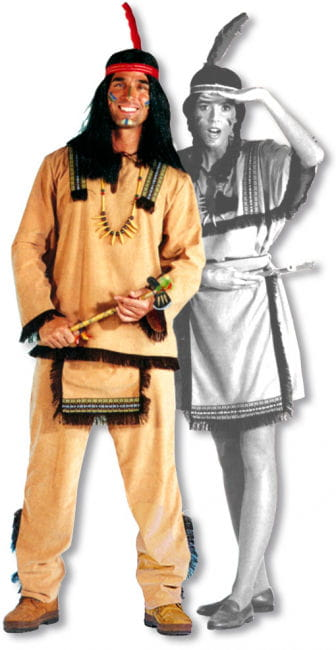 Sioux Male Indian Costume M