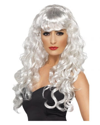 Sirens Curly Wig White