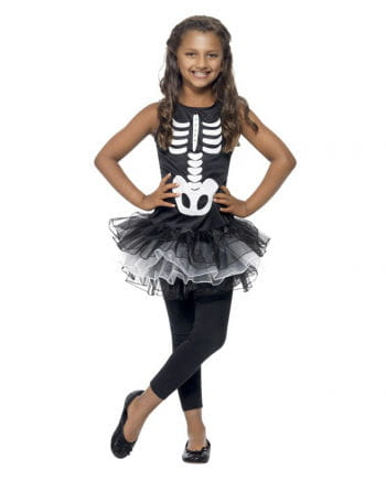 Skeleton Ballerina Child Costume