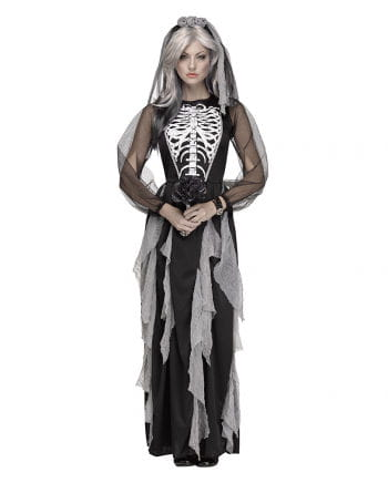 Skeleton Bride women's costume