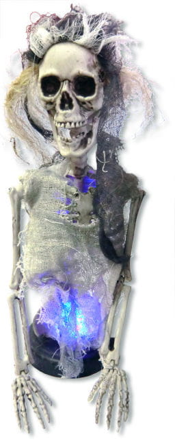 Skeleton Bride with LED