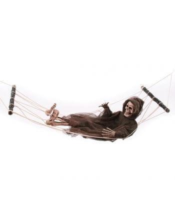 Skeleton Ghost in the hammock