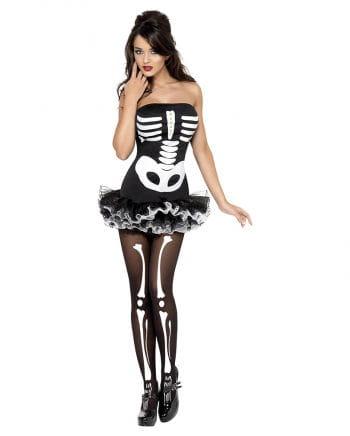 Ballett Skelett Kostüm