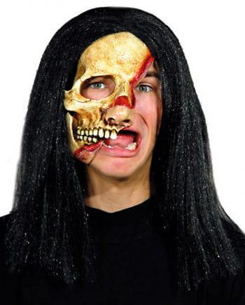 Skinned Skull Half Mask