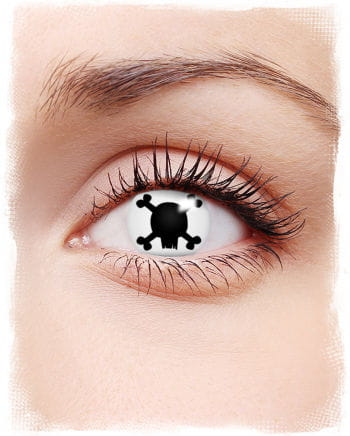 Skull and Bones Contact Lenses