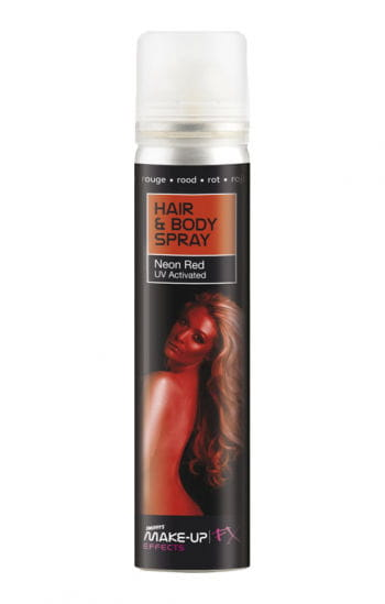 Hair and Body Spray UV Red