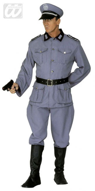 Soldier`s uniform gray Gr. XL