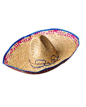 Sombrero mit blauem Rand