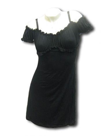 schwarzes mini Sommerkleid Gr Medium