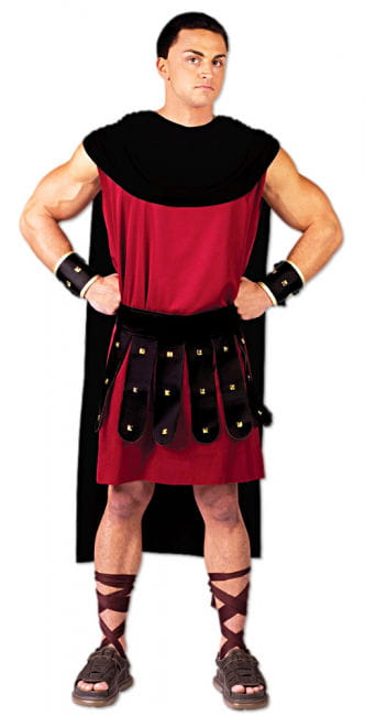 Spartacus Costume Red