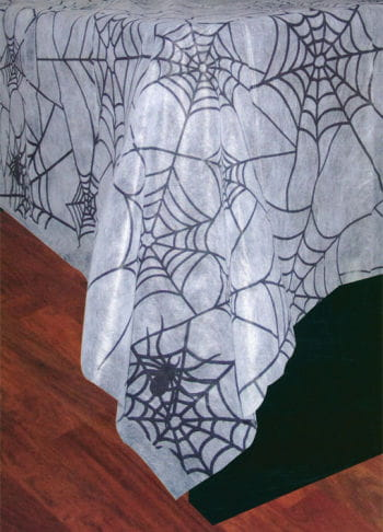 Cobweb Tablecloth White