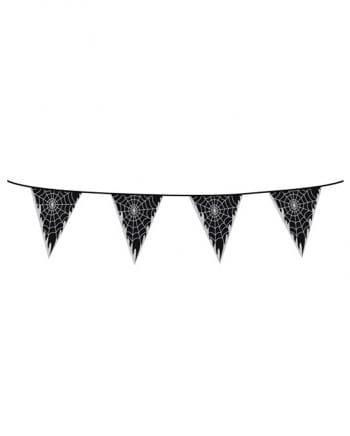 Cobweb Pennant Banner
