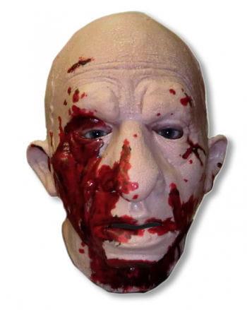 Splatter Ed Zombie Maske
