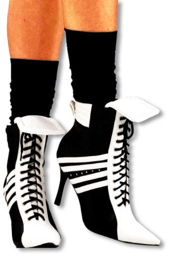 Sporty High Heel Boot