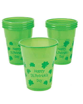 Happy St. Patrick's Day drinking cup 25 pieces