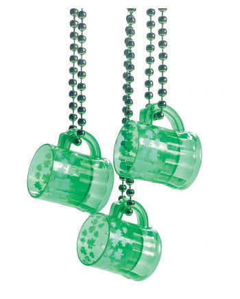 St. Patrick`s Day Shot Glass with chain