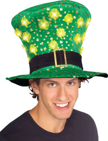 St Patrick's Hat with LEDs