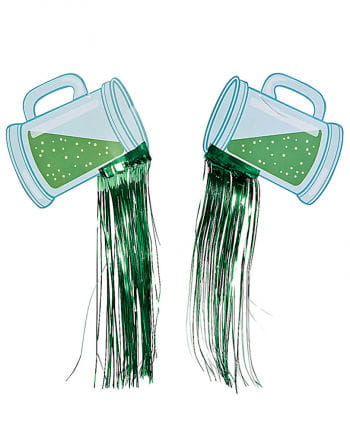 Green beer hanging decoration