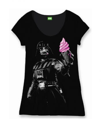 Star Wars Women`s T-Shirt Darth Vader Ice Cream