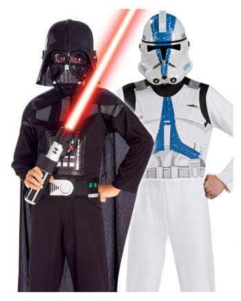 Darth Vader & Clone Trooper Kinderkostüm Set